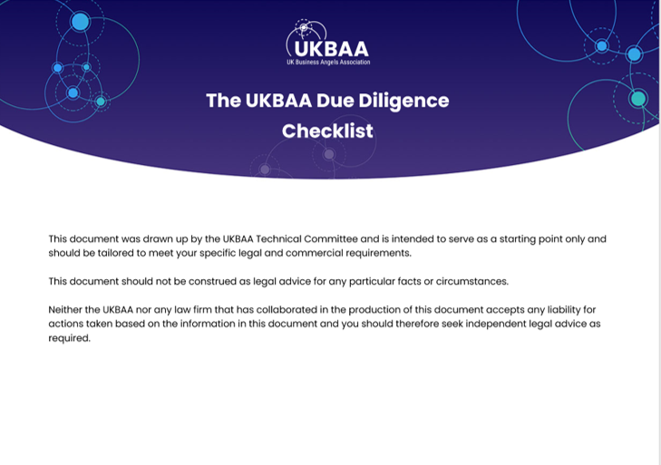 The UKBAA DD Checklist