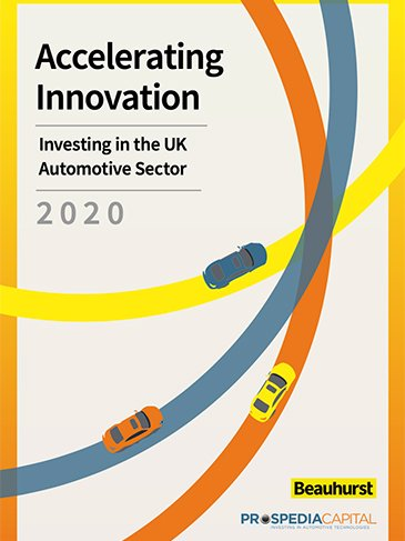 Accelerating Innovation - Investing the UK Automotive Sector 2020