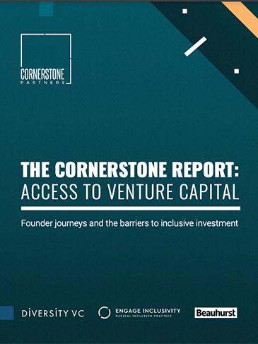 The Cornerstone Report: Access to Venture Capital