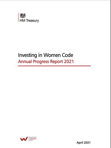 Investing in Women Code - Annual Progress Report 2021